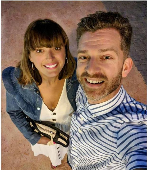 Clemmie and Simon Hooper chronicle their lives on social media Photo: Instagram