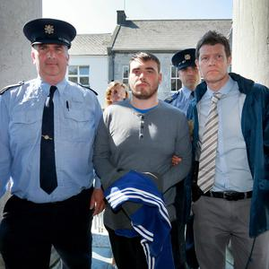 Blake Sweeney from Tralee pictured arriving at Tralee Court House. Photo: Frank Mc Grath