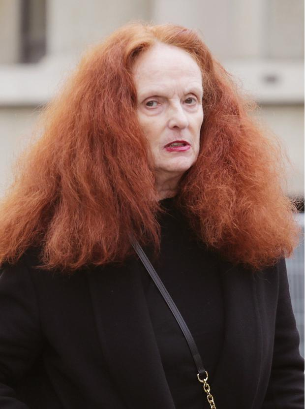 Fashion legend Grace Coddington