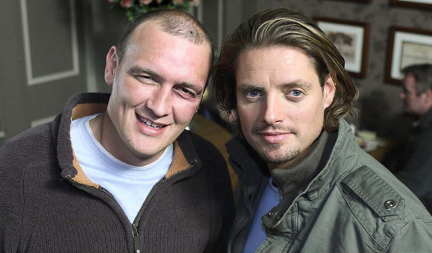 Alan O'Neill (left) pictured with Keith Duffy
