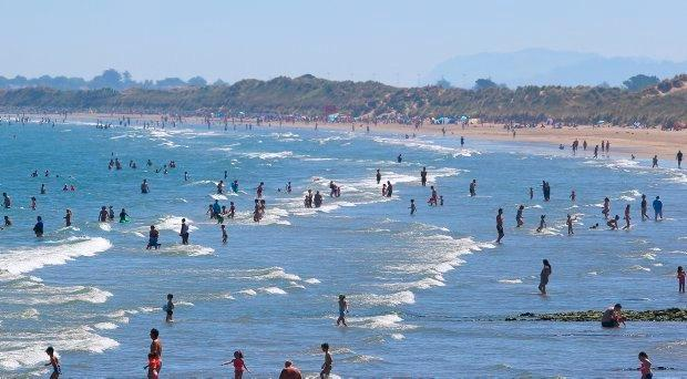 Ireland is sweltering in the warm weather