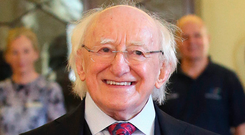 President Michael D Higgins. Photo: Damien Eagers
