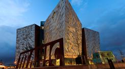 Titanic Belfast. Photos: PA