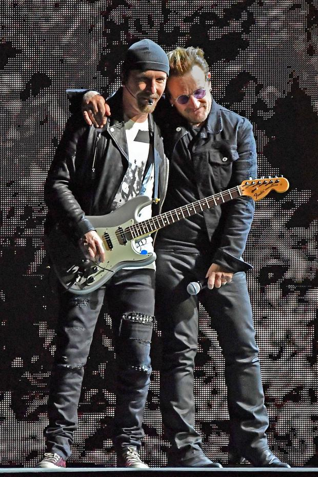 Tickets for U2's concerts in Dublin later this year were listed for resale for up to €800. Photo: Getty Images