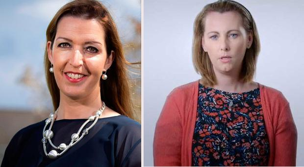Vicky Phelan and Emma Mhic Mhathúna are two of the women affected by the CervicalCheck controversy