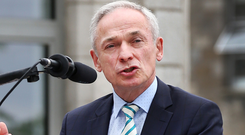 Richard Bruton: Minister's Department inspected school. Picture: Steve Humphreys