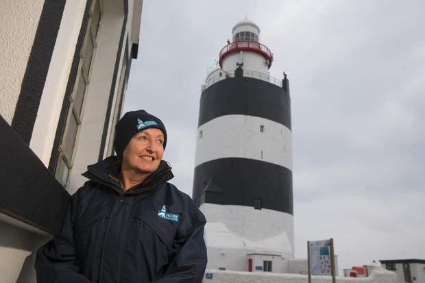 Proud: Ann Waters is general manager at Hook Lighthouse. Photo: Patrick Browne