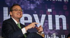 Irish visit: Kevin Hassett, chair of the White House Council of Economic Advisers. Photo: Doug O'Connor