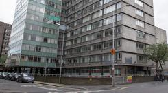 Former premises: The Department of Health wanted to move out of its dated Hawkins House building in Dublin