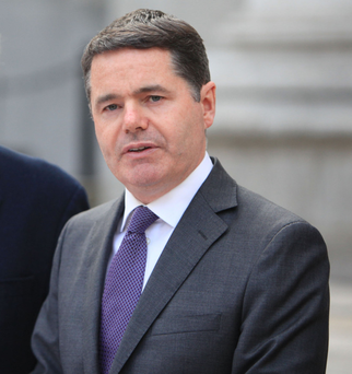 Finance Minister Paschal Donohoe is preparing to sign off of the Budget. (File photo)