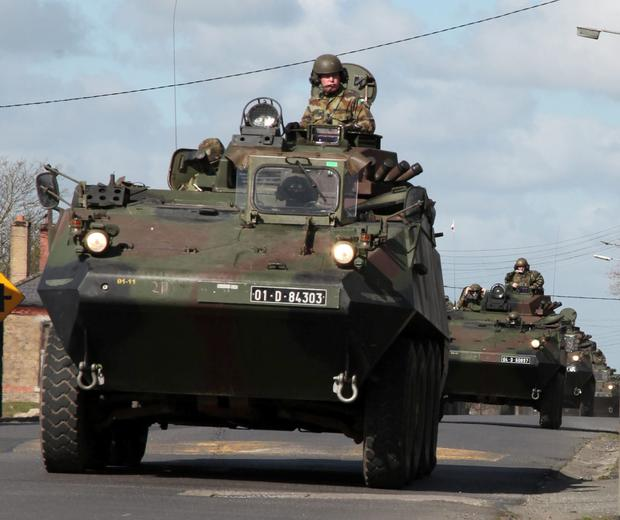 Troops overseas to be protected with €66m armoured vehicles