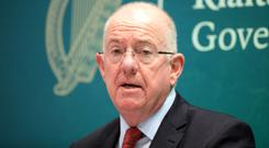 Justice Minister Charlie Flanagan. Picture: Collins
