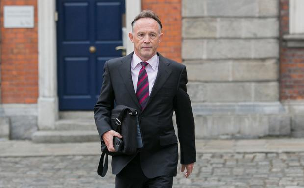 Paul Reynolds at the Disclosures Tribunal in Dublin Castle, Dublin. Photo: Gareth Chaney Collins