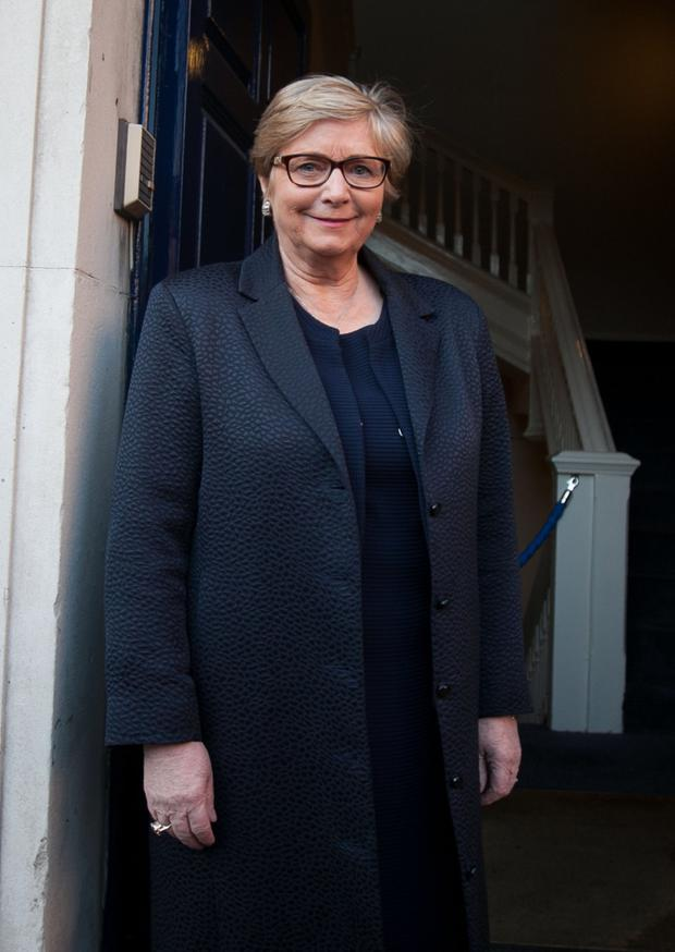 Acted correctly: Former Tánaiste Frances Fitzgerald at the Disclosures Tribunal in Dublin Castle. Photo: Collins