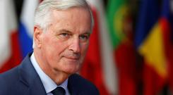 Calming voice: EU Brexit negotiator Michel Barnier says work continues. Picture: Reuters
