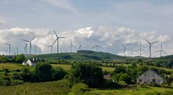 In demand: The rise in generating capacity will have to be met by mainly green energy sources like wind farms. Photo: Bloomberg