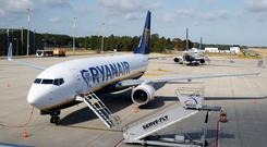 Ryanair plans to shut a base for pilots in the Netherlands. Stock picture