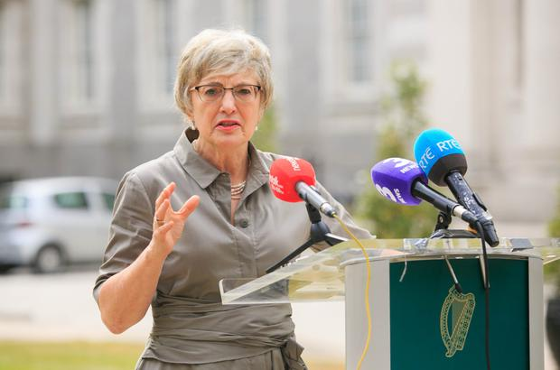 Support: Children's Minister Katherine Zappone's department announced measures to help poorer families in the Budget. Photo: Collins