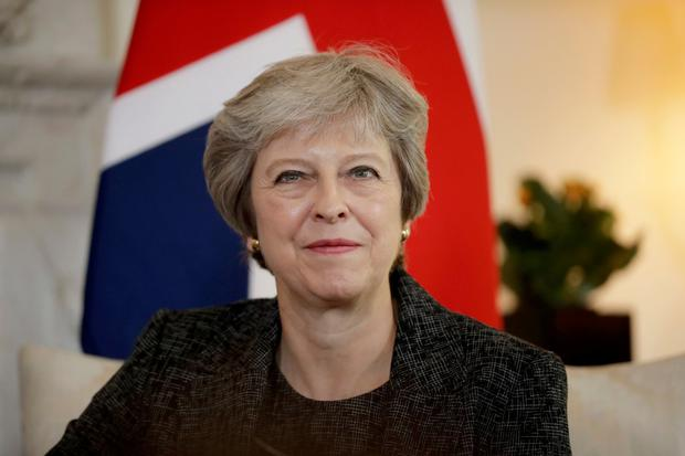 Pressure: British Prime Minister Theresa May. Photo: REUTERS