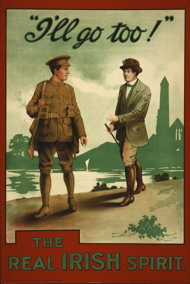 A recruiting poster from WWI