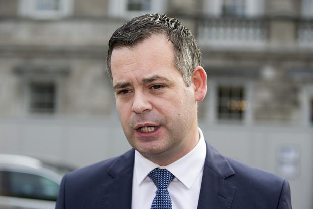 'All spin': Pearse Doherty criticised the Government. Picture: Mark Condren