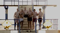 Eoin Ryan, Conor O'Malley, Barney McElroy, Carl Gynn, Colm O'Donnell, and Donal Shanley took part in Coldvember