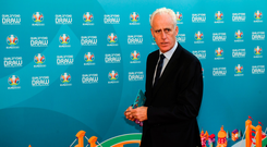 Mick McCarthy was 'relieved' to avoid two of the big teams. Sportsfile