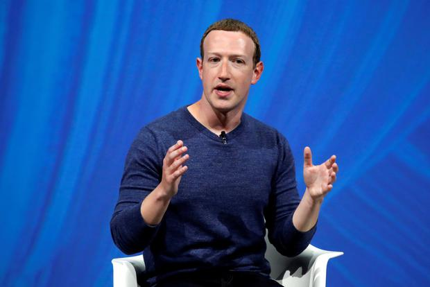 Founder Facebook's Chief Executive Mark Zuckerberg