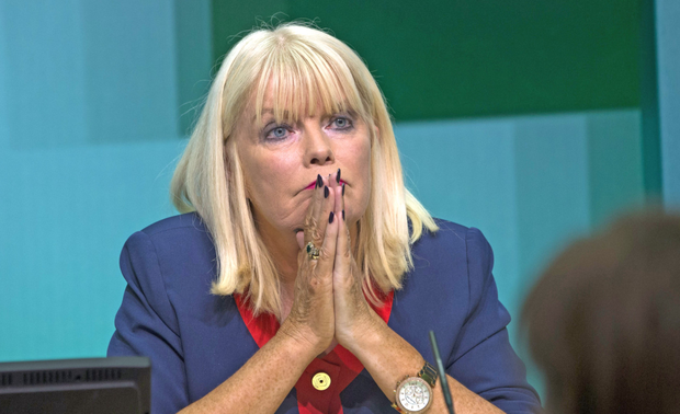 Higher Education Minister Mary Mitchell O'Connor aired her views on Twitter today