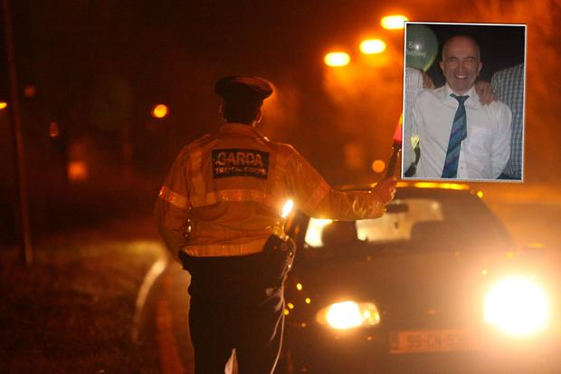 Mike Monaghan (inset) was killed by a drink driver