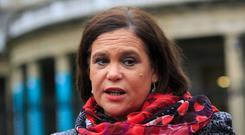 Mary Lou McDonald. Photo: Gareth Chaney Collins