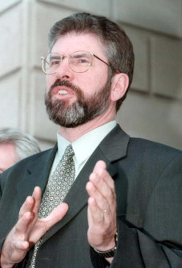 Speech: Gerry Adams was granted a visit to New York