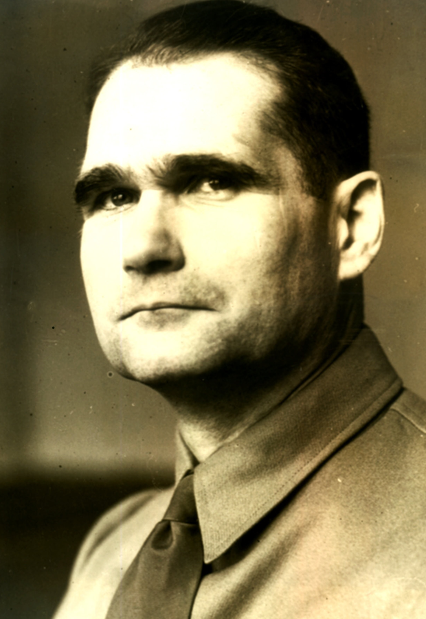 Mission: Rudolf Hess flew solo to Britain in a bid to negotiate peace