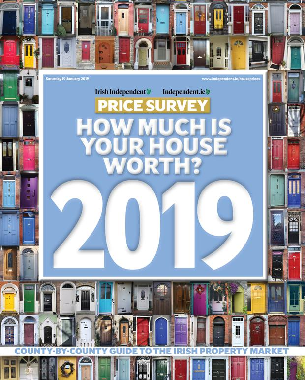 The Irish Independent's annual survey of home values is published today