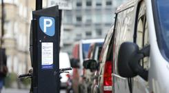 Street parking charges may increase across Dublin city this year. (stock photo)