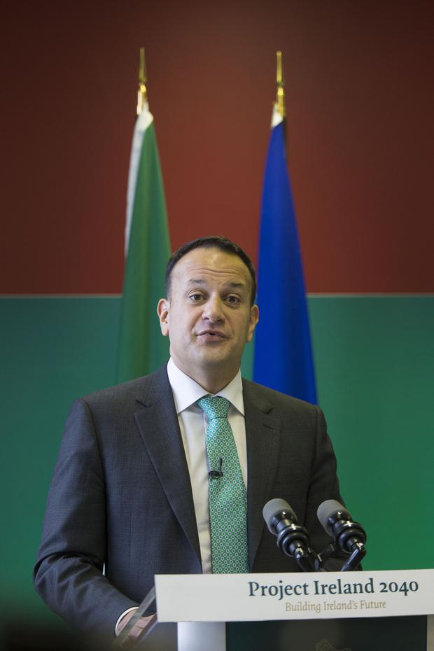 Decisions will be judged in 30 years, says Leo Varadkar. Picture: Colin O'Riordan