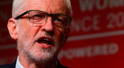 Changing the dynamic: Labour leader Jeremy Corbyn has signalled his party would back a second Brexit referendum. Picture: PA