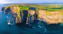 Cliffs of Moher. Picture: Tile Films