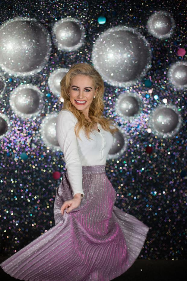 'Dancing with the Stars' contestant Cliona Hagan is aiming for victory in tonight's final — and also plans to use her ballroom skills in future. Photo: Mark Condren