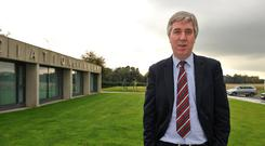 John Delaney has stepped aside as chief executive to take another role at the FAI