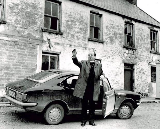 Casey in 1969 with his car 'The Flyer'
