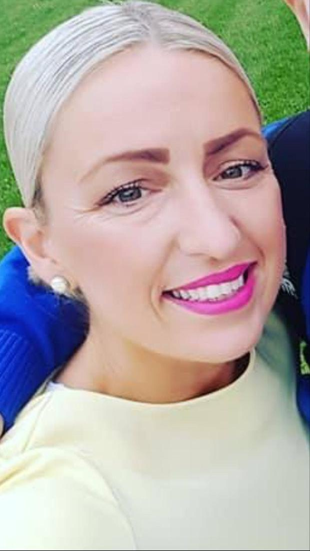 Tragic: Lynn Browne had been celebrating her 40th birthday the night before the accident