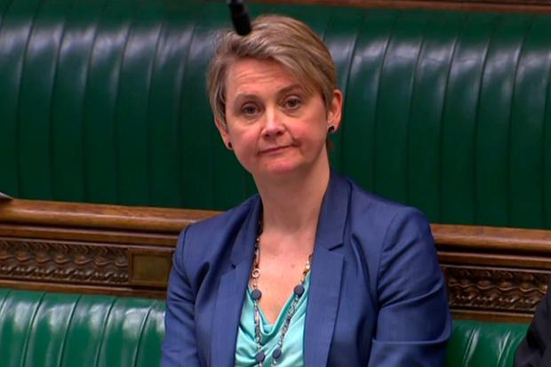Debate: Labour MP Yvette Cooper brought the bill seeking to rule out a 'no deal' Brexit. Photo: AFP/Getty Images