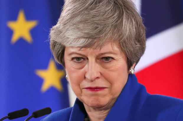 British Prime Minister Theresa May. Picture: Reuters