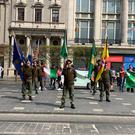 Two more parades featuring anti-State activists have taken place outside the GPO in Dublin today.