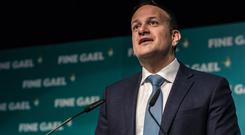 'This one I got wrong': Taoiseach Leo Varadkar apologised for comments he made. Picture: Doug O'Connor