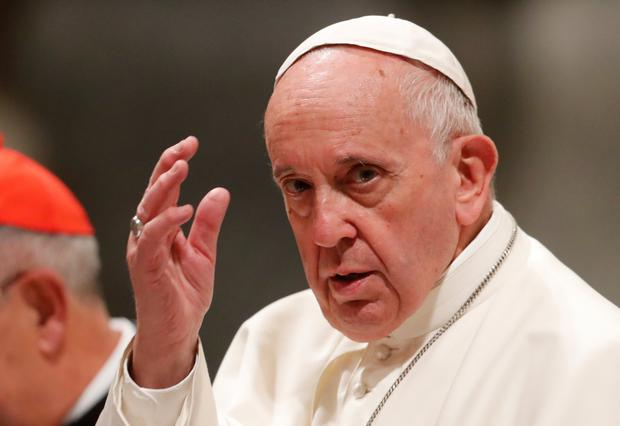 Pope Francis: Said commission could not reach a consensus. Photo: Reuters