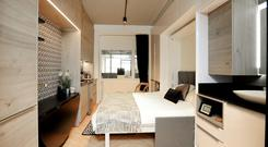 Personal space: How a room in one of the co-living units being planned by Bartra Capital could look