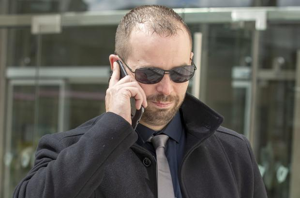 Suspended: Jonathan Lennon denied the charges. Picture: Collins