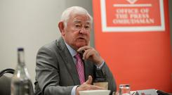 Call for change: Chairman of Press Council of Ireland Seán Donlon. Picture: Caroline Quinn